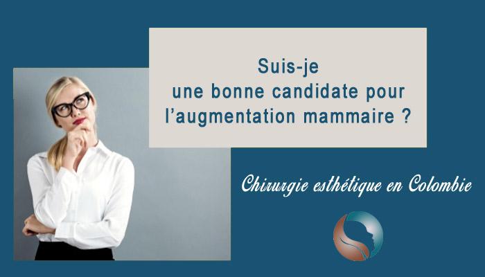 Candidate augmentation mammaire