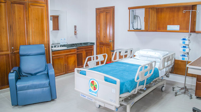 Chambre d'hospitalisation Cartagena