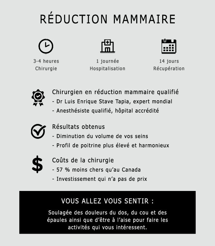Réduction mammaire résumé