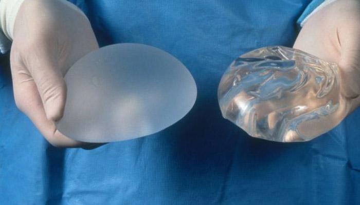 Texture des implants mammaires