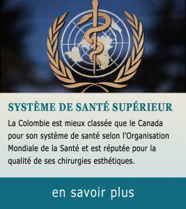 Qualité système de santé en Colombie
