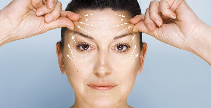 Chirurgie des sourcils et du front