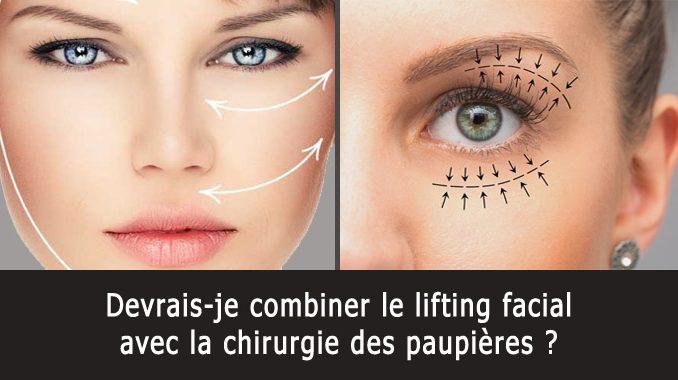 Lifting facial et chirurgie des paupières