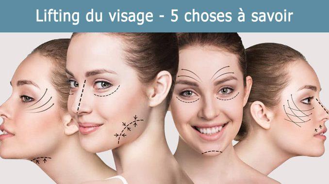 Chirurgie de redrapage du visage