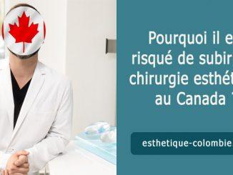 Pourquoi il est risqué de subir une chirurgie esthétique au Canada ?