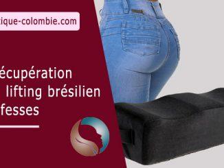 La récupération d'un lifting brésilien des fesses